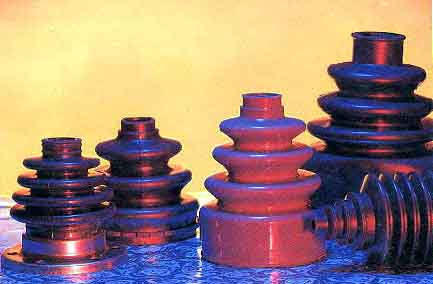 Rubber Products, Rubber-Metal, Rubber Bellows, Vibration Control,